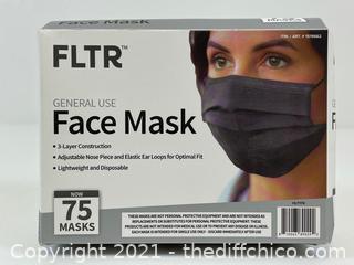 FLTR General Use Face Mask, 75-Pack