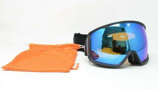 NEW Spy+ Helmet Compatible Underpin Snow Goggles Blue/Orange Interchangeable Lenses