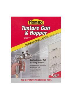 ($62.98) NEW Homax Pro Gun and Hopper for Spray Texture Repair