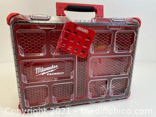($49.97) PACKOUT 11-Compartment Impact Resistant Portable Small Parts Organizer (Read Description)