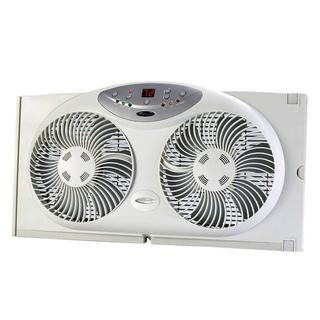 Bionaire, Twin Window Fan w Remote + Digital Thermostat - (Pre-owned, Tested)