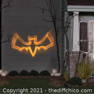 NEW Lightshow Projection ShadowWaves Bat