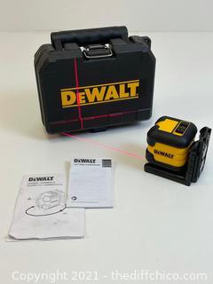 DEWALT Red Cross Line Laser Level Model# DW08802