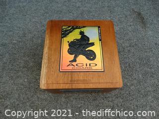 Wood Cigar Box