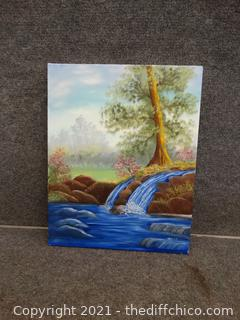 """Signed Painting On Canvas 16"""" x 20"""""""