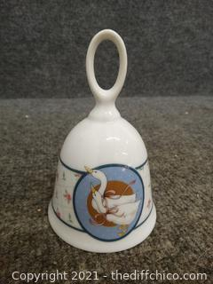 2 Porcelain Bells