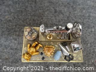 Sewing Machine Jewelry Box