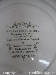 English Rural Scenes Plate