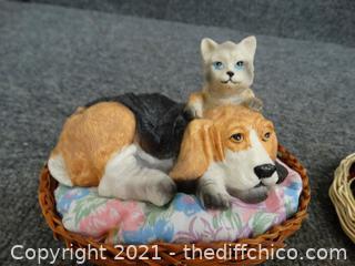 Cat & Dog Knick knacks