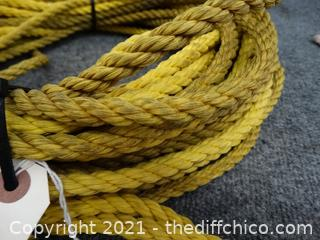 "100'   3/8"" Nylon Rope"