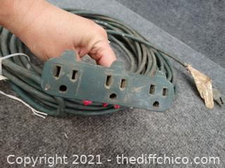 50ft Green EXt Cord