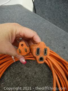 50 ft Orange Ext Cord