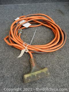 25ft Orange Ext Cord