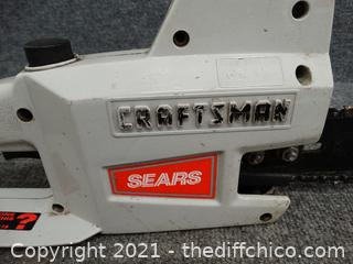 Craftsman Working Chain Saw
