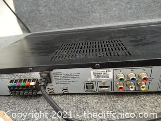 Rca DVD Player powers on