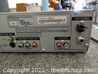 Sony 5 Disc Changer Powers ON