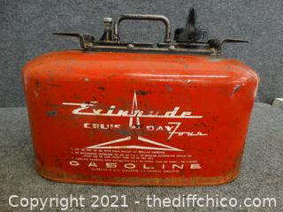 Evinrude Boat Gas Can
