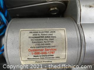 Electric Jack 2000lbs, in Gray Case