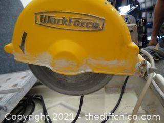 Working Workforce Tile Cutter
