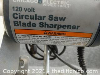 120 Volt Circular Saw Blade Sharpener wks