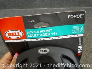 New Bell Helmet Adult 14+