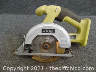 "Ryobi 5 1/2"" Circular Saw Untested No Battery"