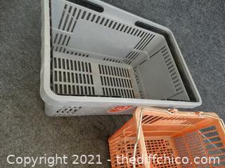 2 Shopping Baskets