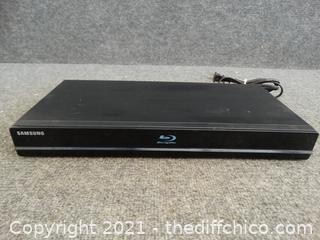 Samsung Blu ray Player Powers On