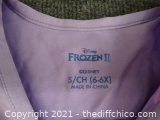 Frozen Light Purple Size 6 Dress
