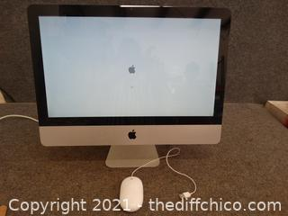 Apple Computer With Mouse Password Protected UNKNOWN Contents