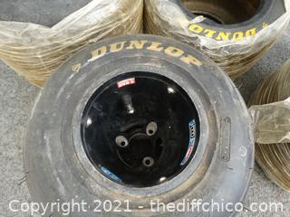 4 Kids Size Racing Tires 11.7 10-5 , 11-5-7-10,  5.00-6