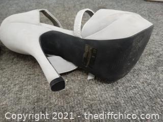 Gray Qupid  Heels 8