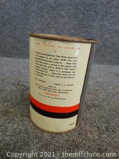 Vintage Sealed Veedol Motor Oil Full