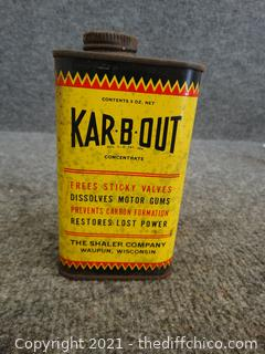 Vintage Sealed KAR-B-OUT Full