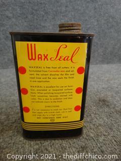 Vintage Sealed Wax Seal Full
