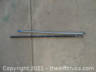 2 Screw Broom Sticks