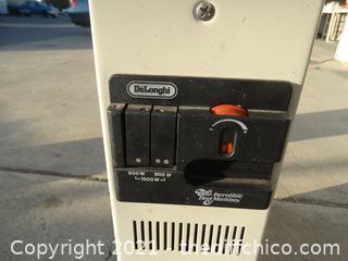 Delonghi Rolling Heater works