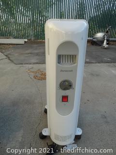 Duracraft Rolling Heater Works