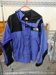 Purple & Black North Face Jacket MED