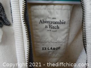 Abercrombie & Fitch  XXL Zip Up