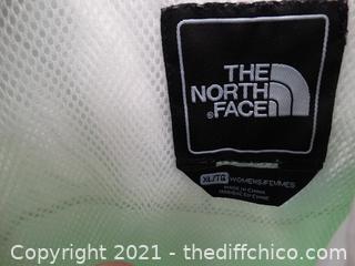 North Face Light Green Jacket XLT