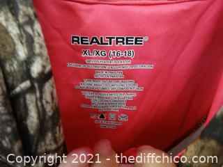 Realtree XL 16-18 Camo Hoodie