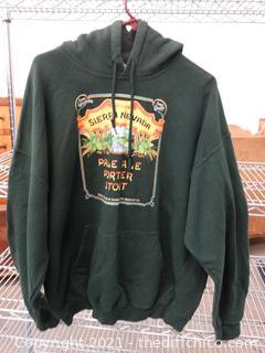 Green Sierra Nevada Hoodie XL