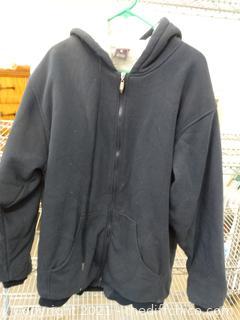 Kenpo XL Zip Up Coat