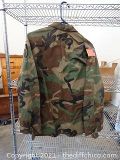 US Army Coat Small