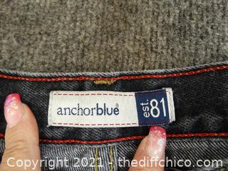 Anchor Blue Jeans 36 x 34