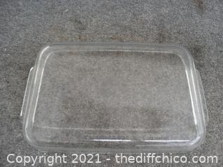"Pyrex Casserole Dish 16"" X 11 """
