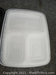 Meal Prep Containers with Lids