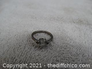 Size 6 1/2 Ring with Stone