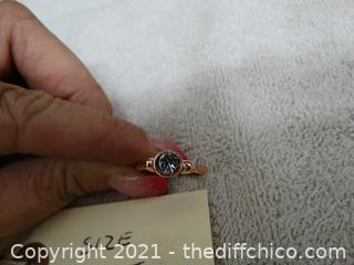 Size 7.5 Ring With Stone